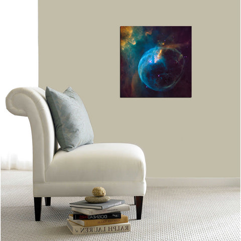 """Bubble Nebula"" Hubble Space Telescope Giclee Canvas Wall Art"
