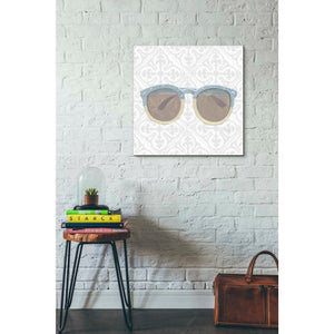 'Must Have Fashion I Gray White' by Emily Adams, Giclee Canvas Wall Art