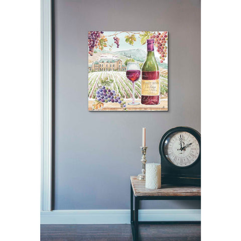 Image of 'Wine Country IV' by Daphne Brissonet, Giclee Canvas Wall Art