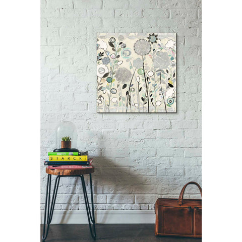 Image of 'Interlocking Shadows Sq' by Candra Boggs, Giclee Canvas Wall Art