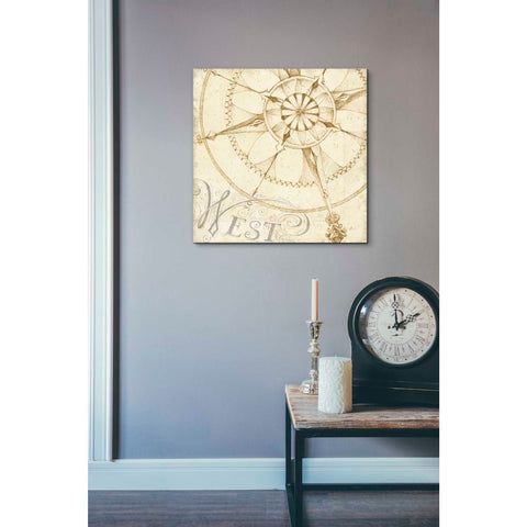 Image of 'Coast to Coast Sepia IV' by Daphne Brissonet, Giclee Canvas Wall Art