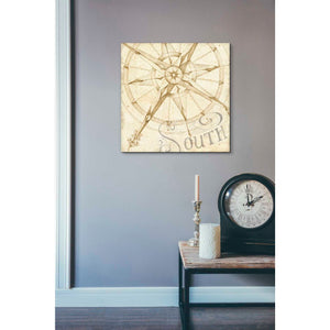 'Coast to Coast Sepia II' by Daphne Brissonet, Giclee Canvas Wall Art