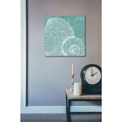 'Aqua Treasure IV' by Daphne Brissonet, Giclee Canvas Wall Art