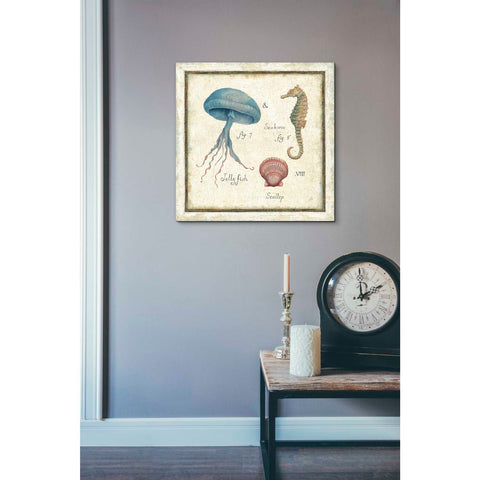 'Oceanography III' by Daphne Brissonet, Giclee Canvas Wall Art