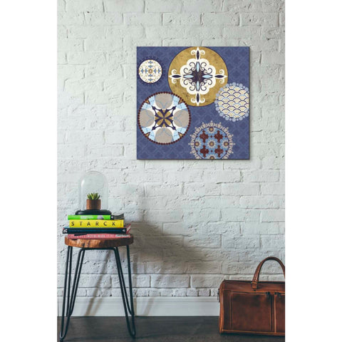 'Mediterranean Blue III' by Veronique Charron, Giclee Canvas Wall Art