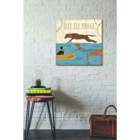 'Lake Pals VI' by Veronique Charron, Giclee Canvas Wall Art