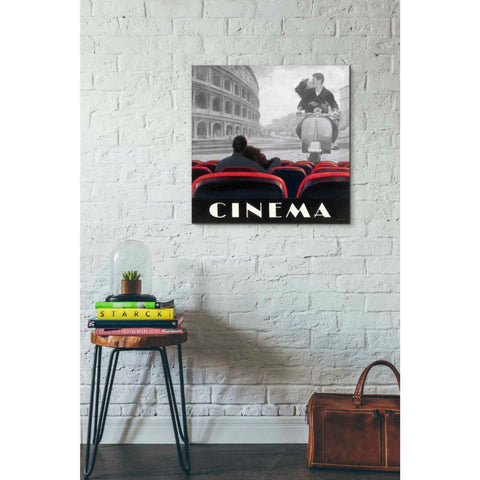 Image of 'Cinema Roma' by Marco Fabiano, Giclee Canvas Wall Art