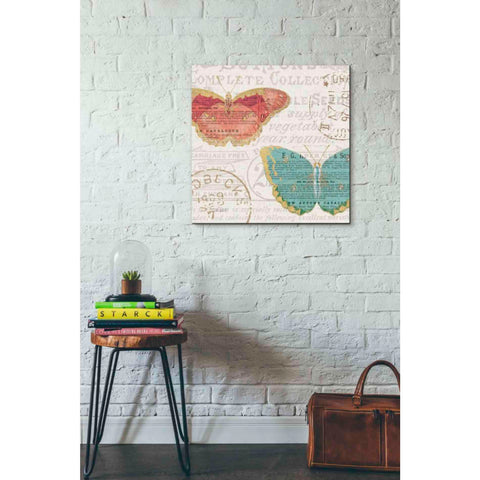 Image of 'Bookshelf Botanical VII' by Katie Pertiet, Giclee Canvas Wall Art