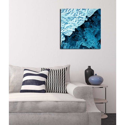 'Earth As Art: Kamchatka Peninsula' Acrylic Wall Art,26 x 26