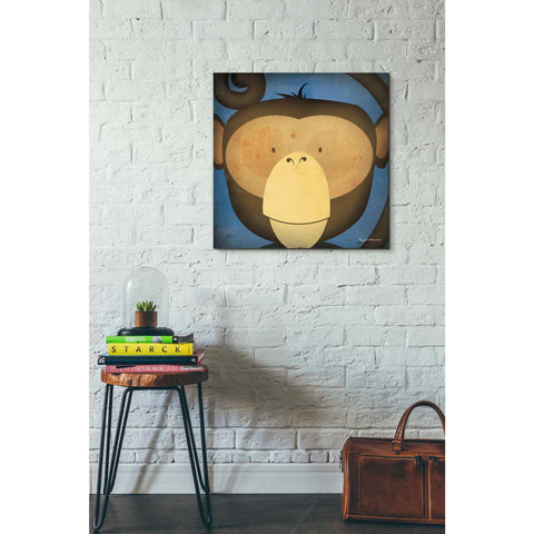 'Monkey Wow' by Ryan Fowler, Giclee Canvas Wall Art