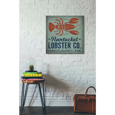 'Nantucket Lobster Square' by Ryan Fowler, Giclee Canvas Wall Art