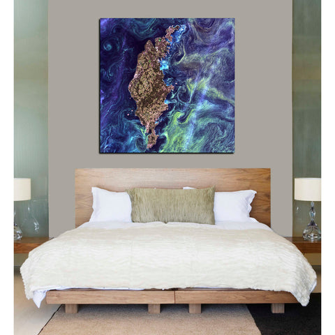 Image of 'Earth As Art: Van Gogh From Space' Giclee Acrylic Wall Art