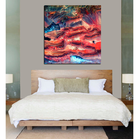'Earth As Art: Faults' Giclee Acrylic Wall Art