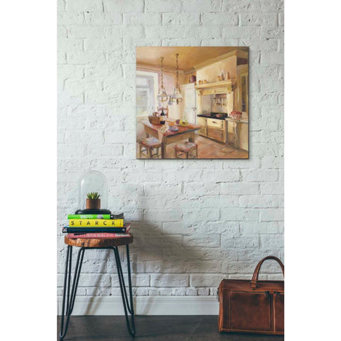 'French Kitchen II' by Marilyn Hageman, Giclee Canvas Wall Art