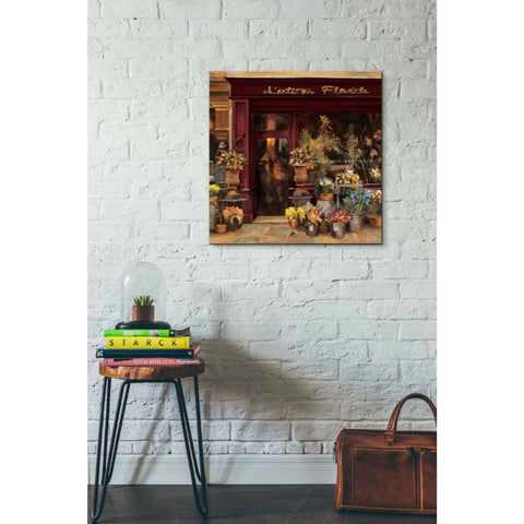 Image of 'Parisian Shoppe I' by Marilyn Hageman, Giclee Canvas Wall Art