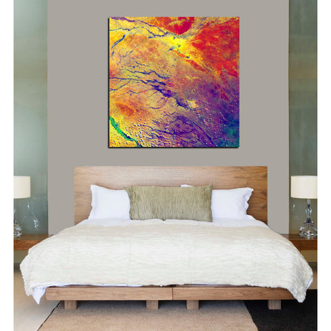 'Earth As Art: A Study in Color' Giclee Acrylic Wall Art