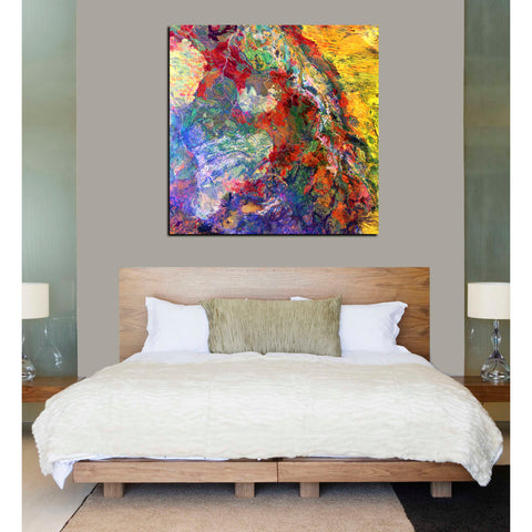 'Earth As Art: Melted Colors' Giclee Canvas Wall Art