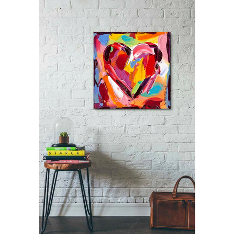 'Colorful Expressions I' by Carolee Vitaletti Giclee Canvas Wall Art