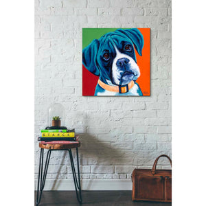'Cute Pups I' by Carolee Vitaletti Giclee Canvas Wall Art