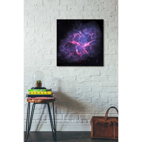 """Crab Nebula"" Hubble Space Telescope Giclee Canvas Wall Art"
