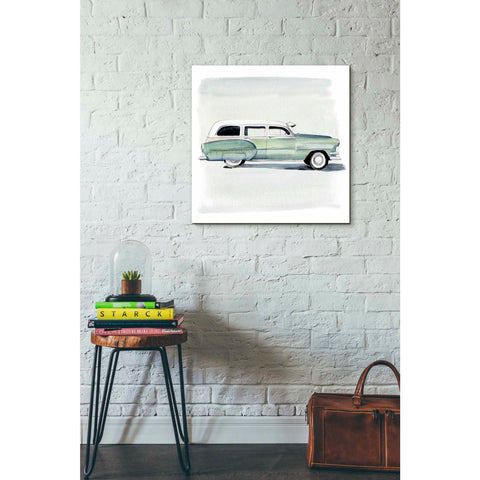 Image of 'Classic Autos III' by Jennifer Paxton Giclee Canvas Wall Art