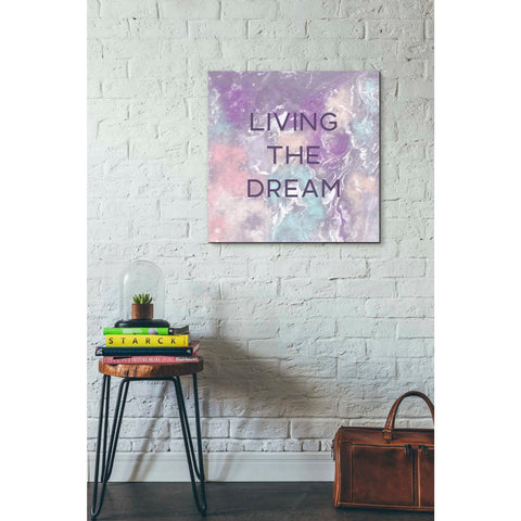 'Living The Dream' by Linda Woods, Canvas Wall Art,26 x 26