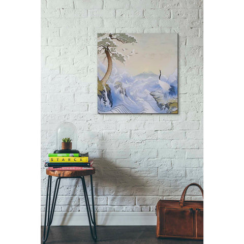 Image of 'Winter Waves' by Zigen Tanabe, Giclee Canvas Wall Art