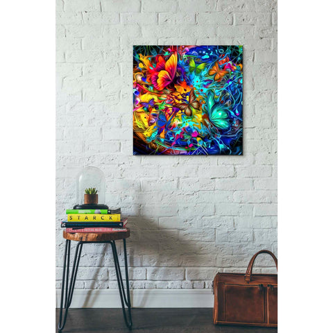 Image of 'Melting Pot' Canvas Wall Art,26 x 26