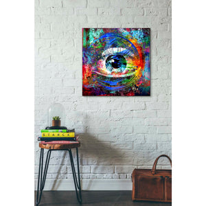 'Big Brother' Canvas Wall Art,26 x 26
