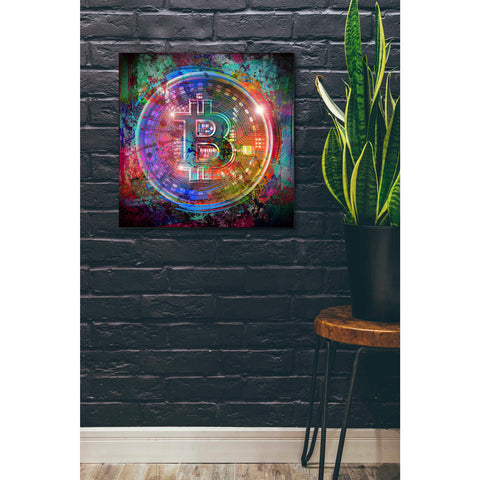 'Bitcoin Wallet' Giclee Canvas Wall Art