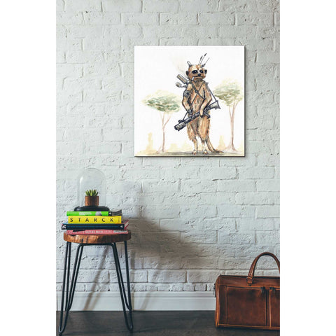 """Meerkat"" by Craig Snodgrass, Giclee Canvas Wall Art"