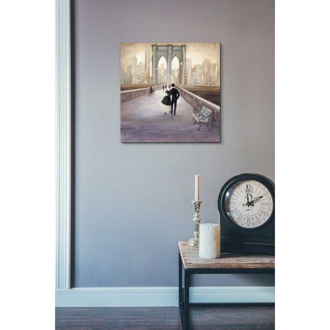 """Bridge to New York"" by Julia Purinton, Giclee Canvas Wall Art"