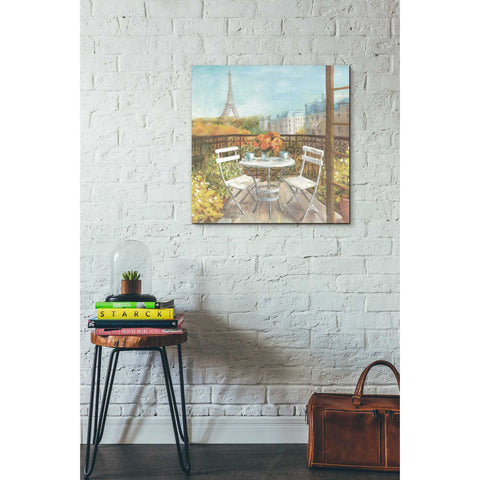 "Image of ""September In Paris"" by Danhui Nai, Giclee Canvas Wall Art"