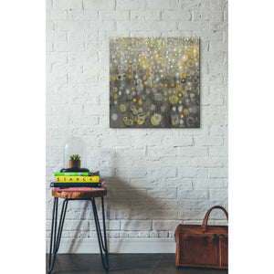 'Rain Abstract V' by Danhui Nai, Canvas Wall Art,26 x 26