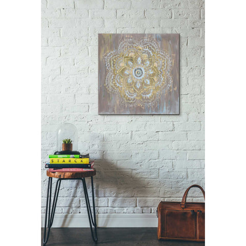 Image of 'Bombay Bohemian Neutral' by Danhui Nai, Canvas Wall Art,26 x 26