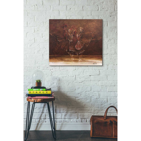 Image of 'Ballerinas' by Samedin Asllani, Giclee Canvas Wall Art