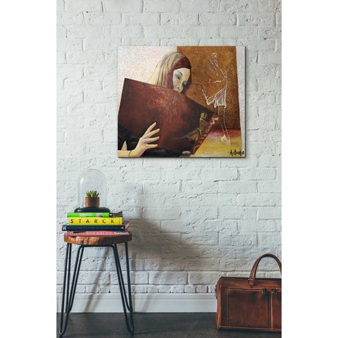 'The Viewer' by Samedin Asllani, Giclee Canvas Wall Art