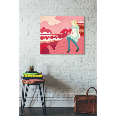 Image of 'Alice in the Candy World' by Sai Tamiya, Giclee Canvas Wall Art