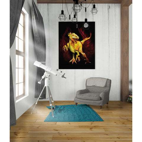 'Raptor' by Michael StewArt, Canvas Wall Art,26 x 30