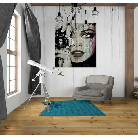 Image of 'Zoom' by Loui Jover, Canvas Wall Art,26 x 30