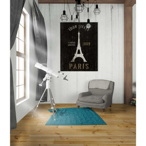'Refurbished Eiffel Tower' by Wild Apple Portfolio, Giclee Canvas Wall Art