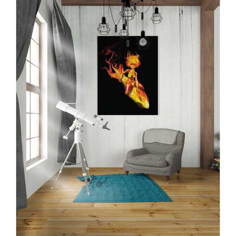 "Image of ""Bombs Away"" by Michael Stewart, Giclee Canvas Wall Art"