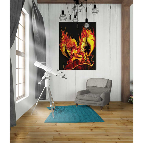 'Dragon Fire' by Michael StewArt, Giclee Canvas Wall Art