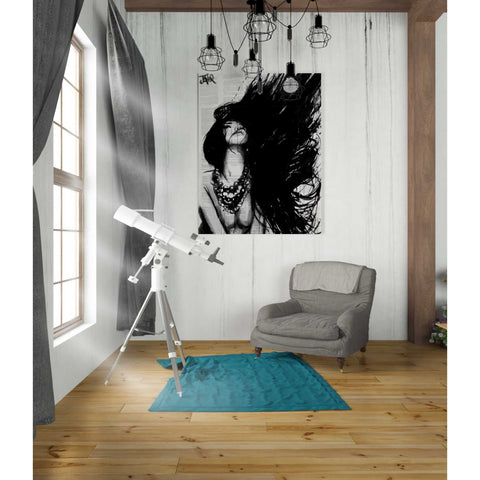 Image of 'Amazonia' by Loui Jover, Canvas Wall Art,26 x 34