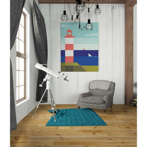 'Lighthouse' by Antony Squizzato, Giclee Canvas Wall Art