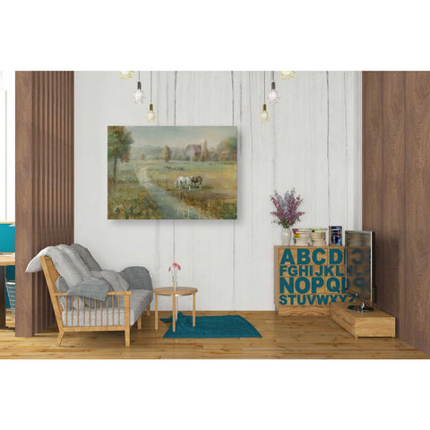 'Tranquil Farm' by Danhui Nai, Giclee Canvas Wall Art