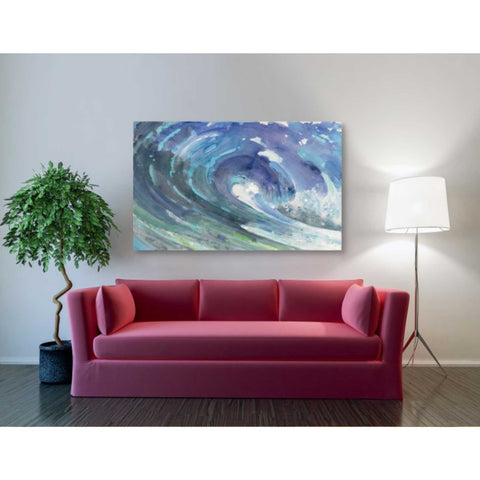 Image of 'Curl' by Albena Hristova, Canvas Wall Art,34 x 26