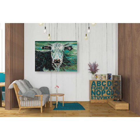 Image of 'Marshland Cow I' by Carolee Vitaletti Giclee Canvas Wall Art