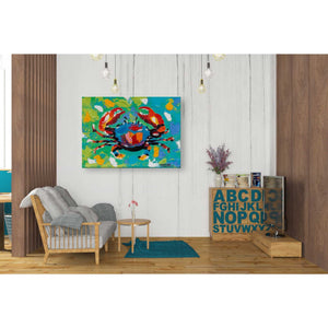 'Seaside Crab I' by Carolee Vitaletti Giclee Canvas Wall Art