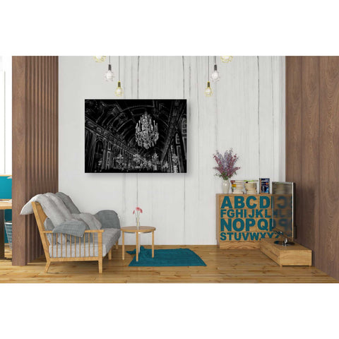 Image of 'Ballroom Sketch' by Ethan Harper Canvas Wall Art,34 x 26